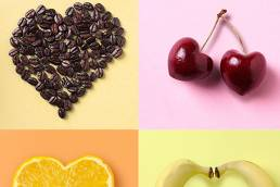 food Hearts by sydney food photographer Ben Cole