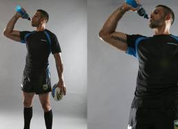 portrait photography of Greg Inglis for Powerade