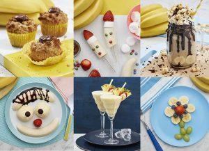 social media photography for Australian bananas