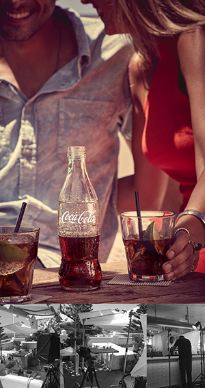 Sydney beverage photographer shoots for Coca-Cola