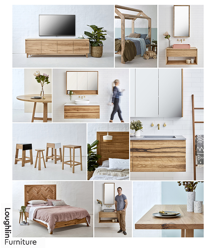 Product Photography for Loughlin Furniture range