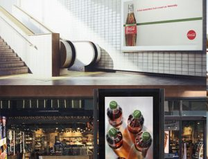 drink photography for Coca-Cola Stevia