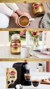 Moccona product Photography